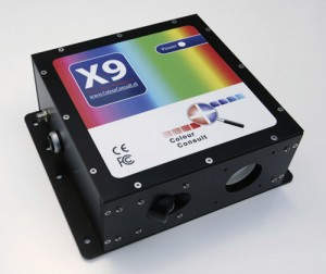 X9 in-line spectrophotometer from ColourConsult.nl