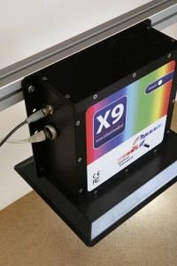 X9 in-line spectrophotometer for paper and textiles
