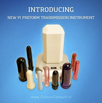 Introducing the P1 preform transmission instrument